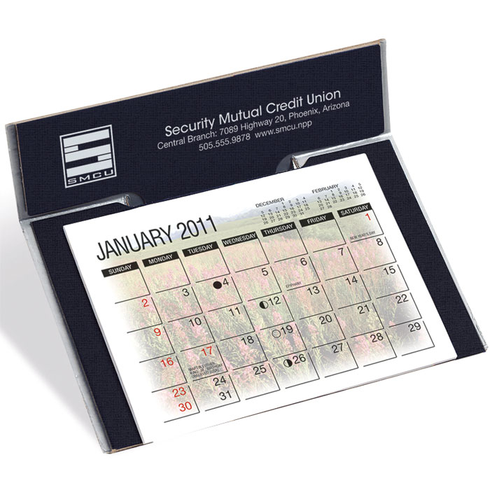 LOGO premiums Desk Calendar Wall Calendars Magnet
